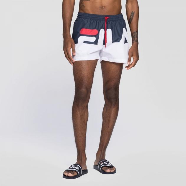 Fila Makoto Swim Shorts black-iris-white