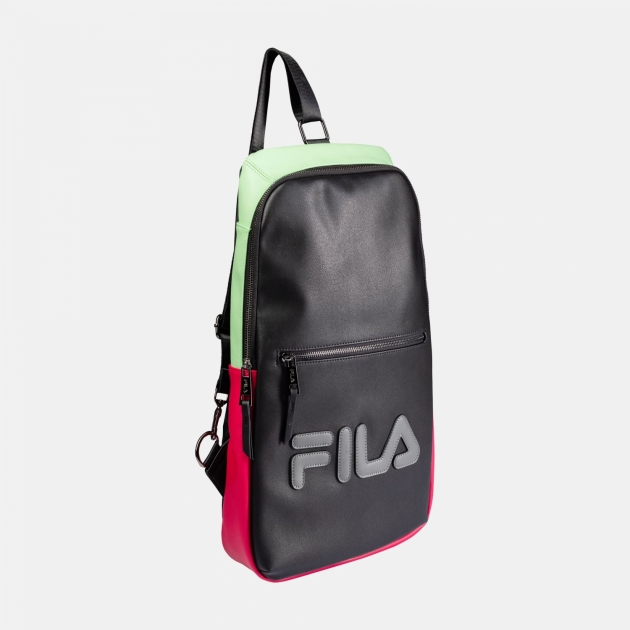 Fila Men Backpack black-green-sangria