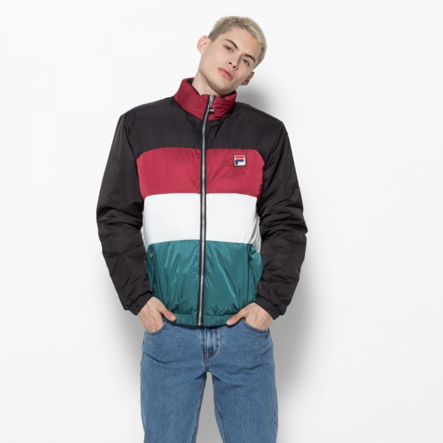 Fila Neo Colour Blocked Puffa Jacket