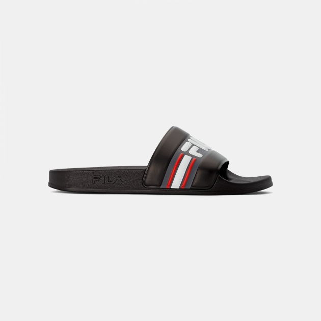 Fila Oceano Slipper Men black-white-red