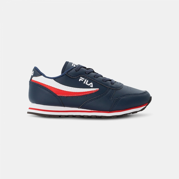 Fila Orbit Low Kids dress-blue