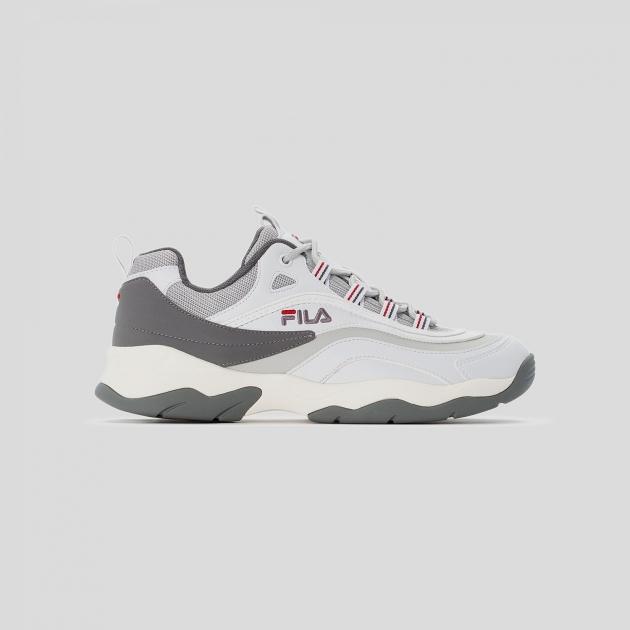 Fila Ray CB Low Men white-gray-violet