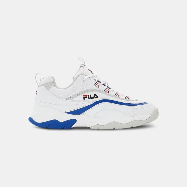 Fila Ray F Low Men white-blue-violet