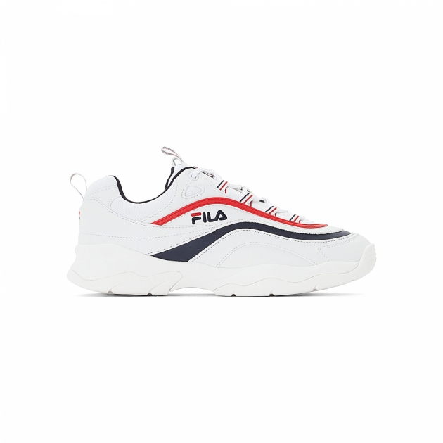 Fila Ray Low Men white-navy-red