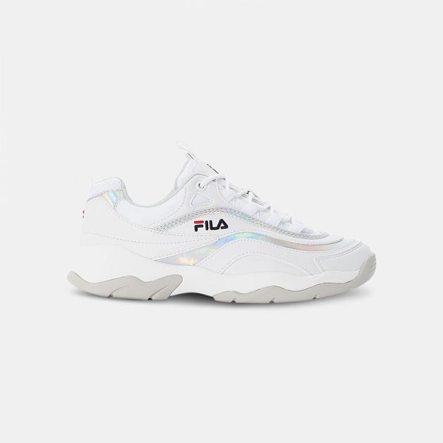 Fila Ray M Low Wmn white-silver