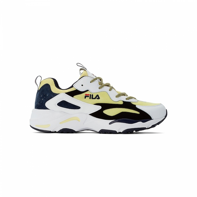 Fila Ray Tracer Men lemon-white-black