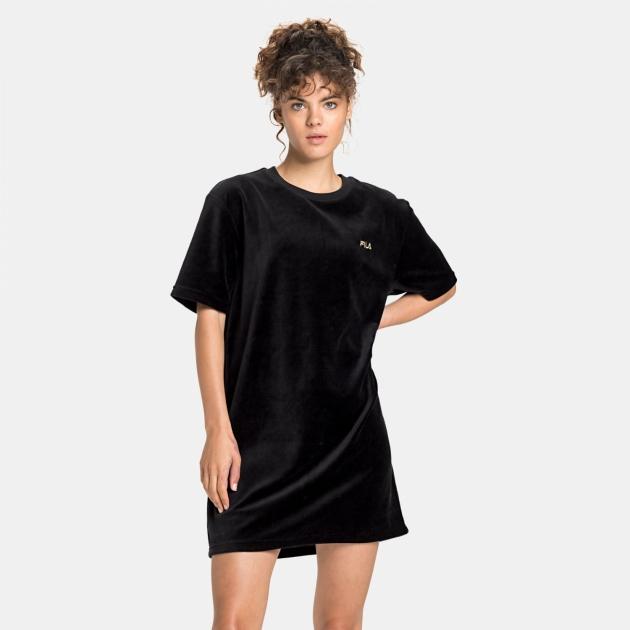 Fila Satinka Velvet Tee Dress