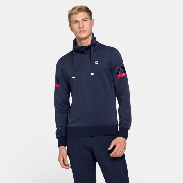Fila Setia Stand Up Collar Shirt