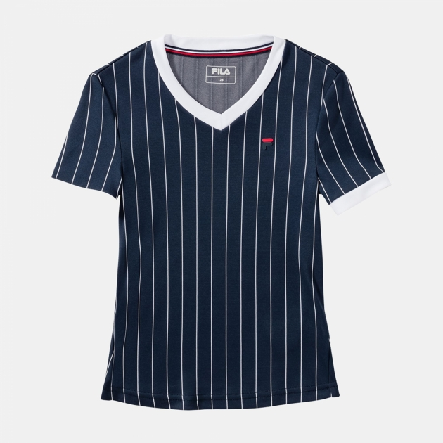 Fila Shirt Pearl Girls dark-blue