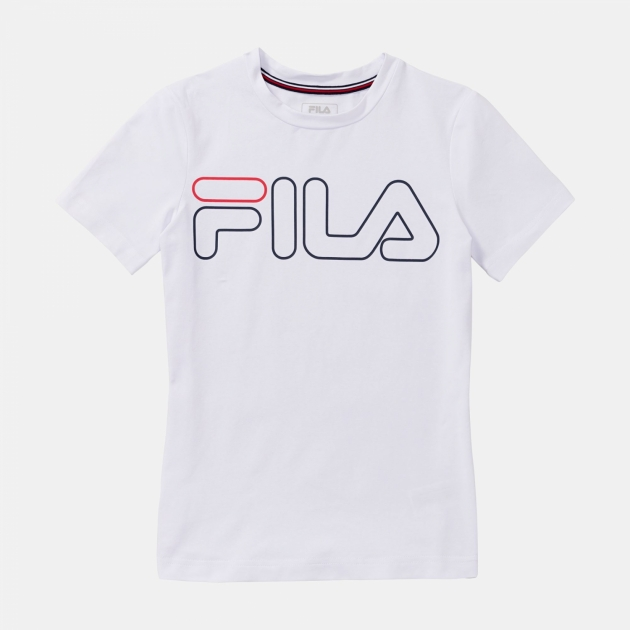 Fila Shirt Ricki Kids white