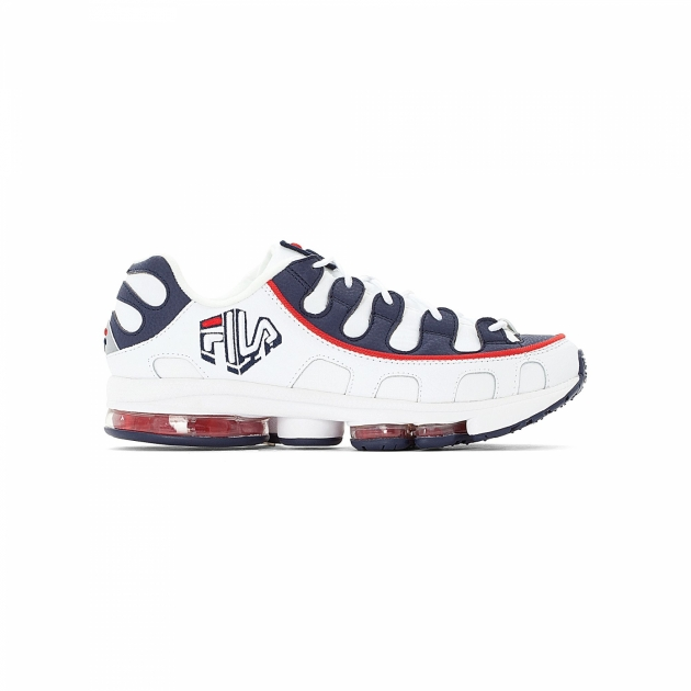 Fila Silva Trainer Men white-navy-red