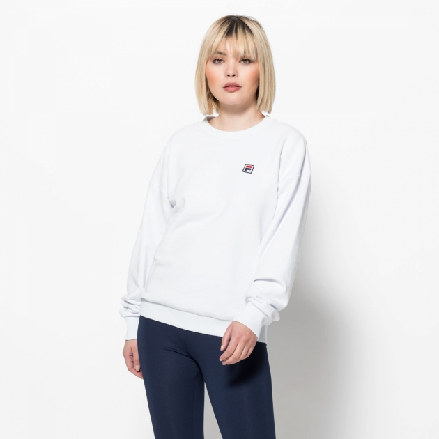 Fila Suzanna Crew Sweat white