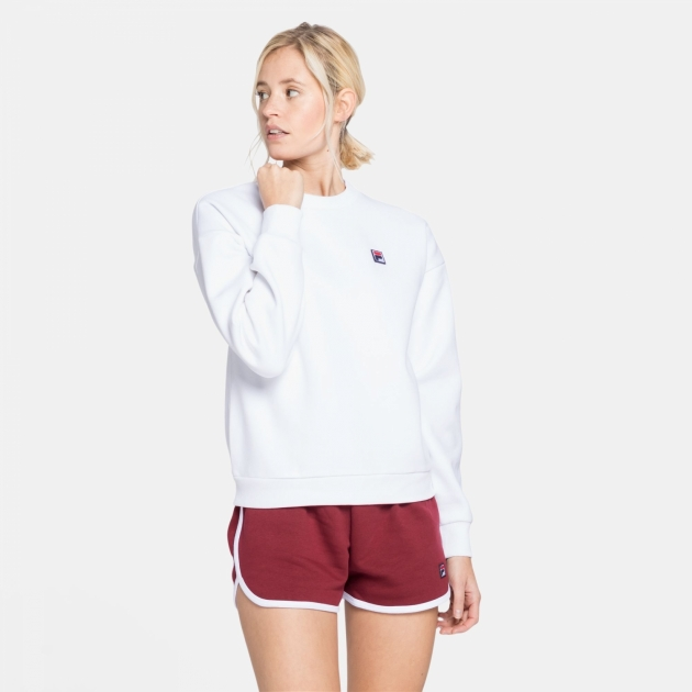 Fila Suzanna Crew Sweater white