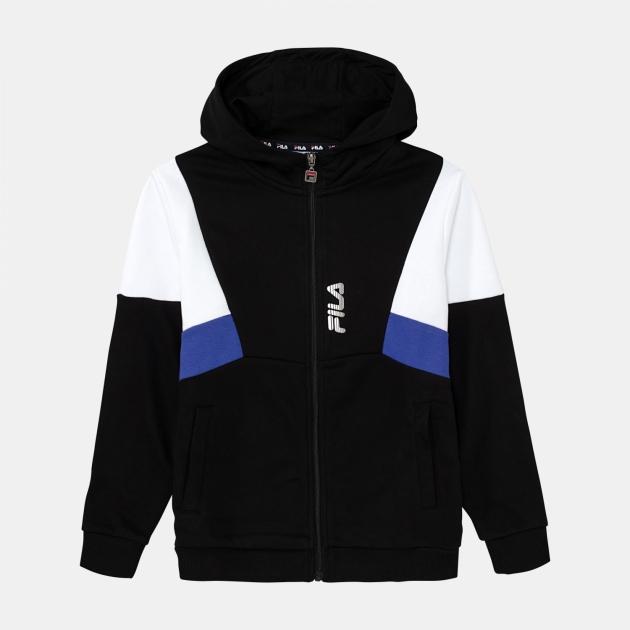 Fila Teens Boys Basti Hooded Sweat Jacket