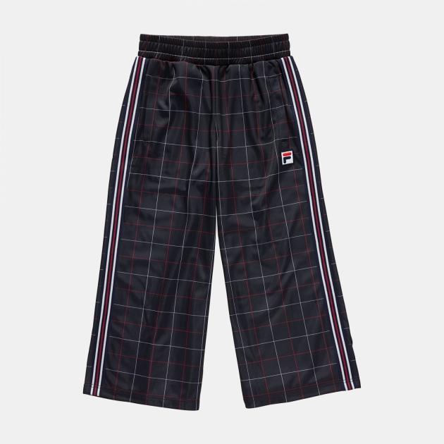 Fila Teens Grazia AOP Wide Leg Trousers black