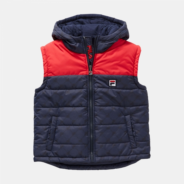 Fila Teens Vito Puffer Vest