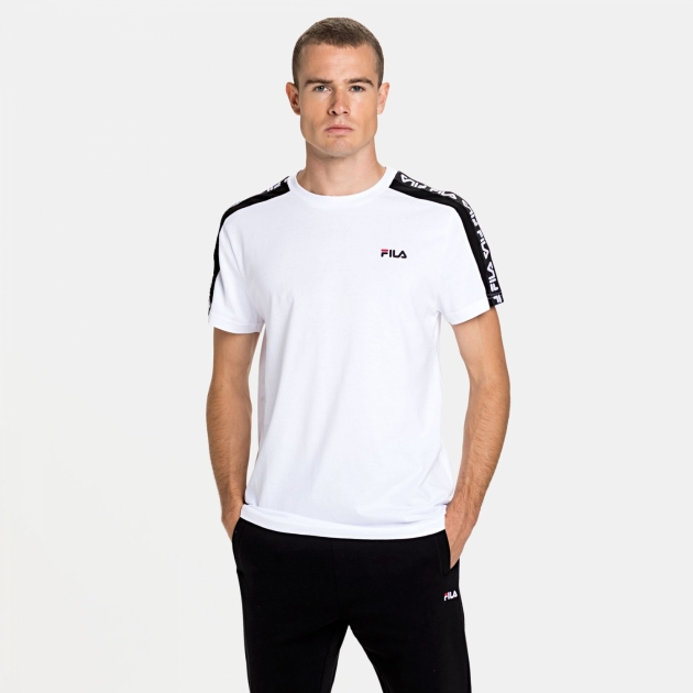 Fila Thanos Tee white-black