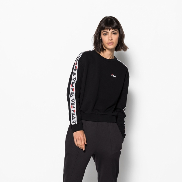 Fila Tivka Crew Sweat black
