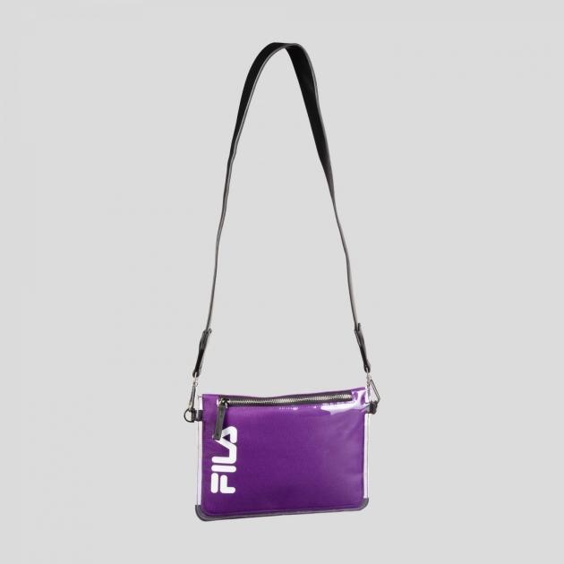 Fila Transparent Cross Body Bag tillandsia-purple