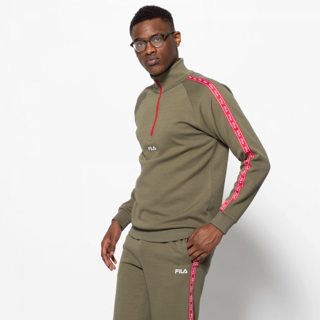 Fila UDE II Half Zip Sweater
