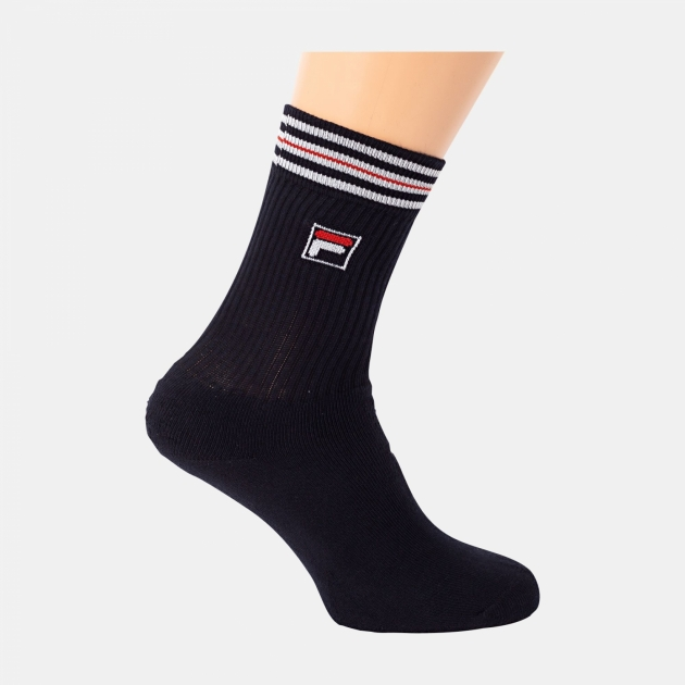 Fila Unisex Tennis Socks black