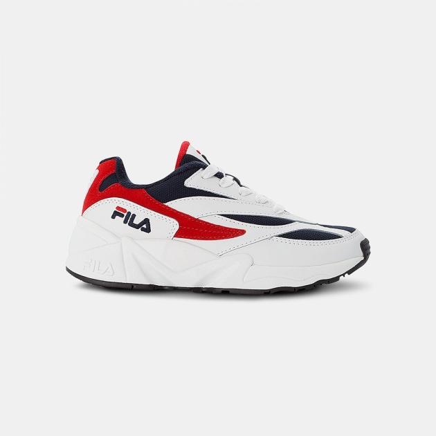 Fila V94M Kids white-navy-red