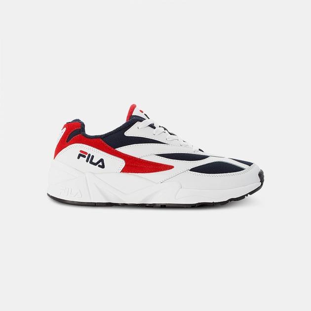Fila V94M Low Men white-navy-red