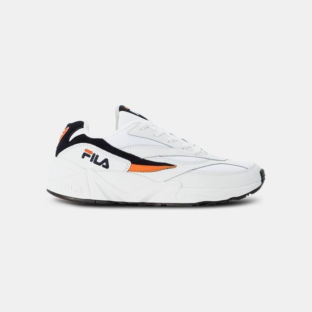 Fila  	Fila V94M Low Wmn white-navy-orange