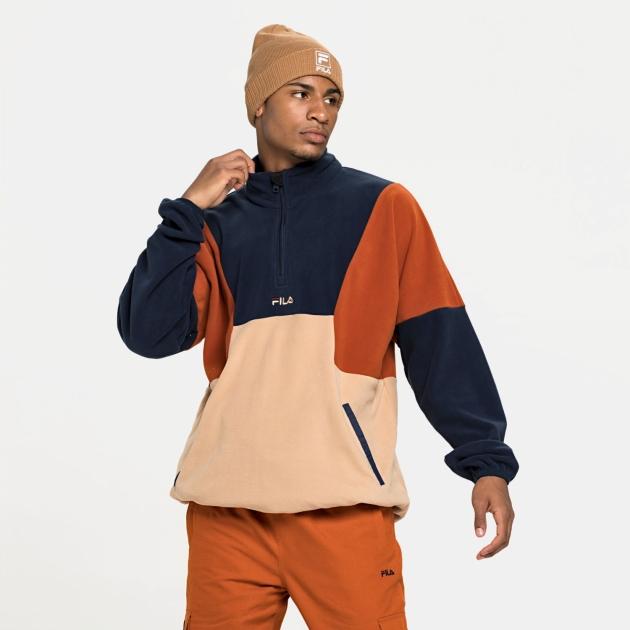 Fila Wafa Blocked Half Zip Fleece