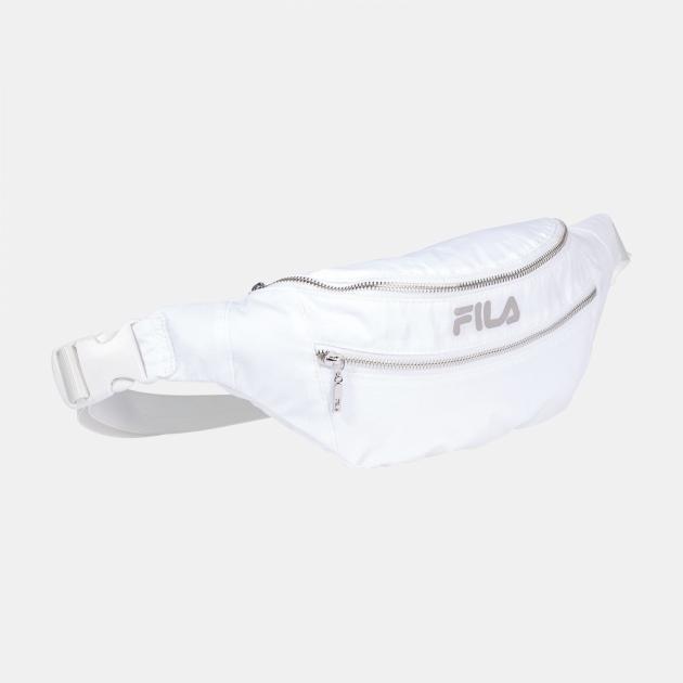 Fila Waist Bag Light Ripstop Double Zipper blanc-de-blanc