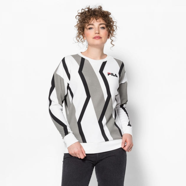 Fila Waverly Prinked Crew Sweat