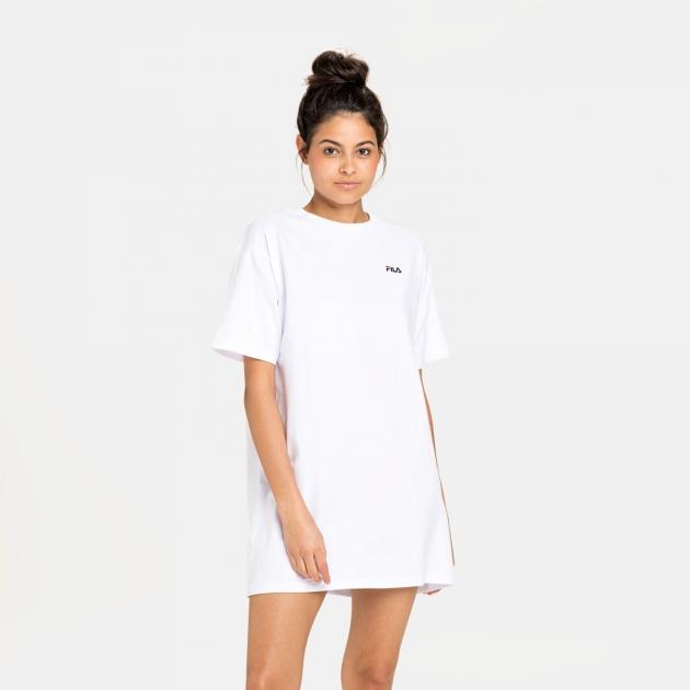 Fila Wmn Elle Tee Dress white