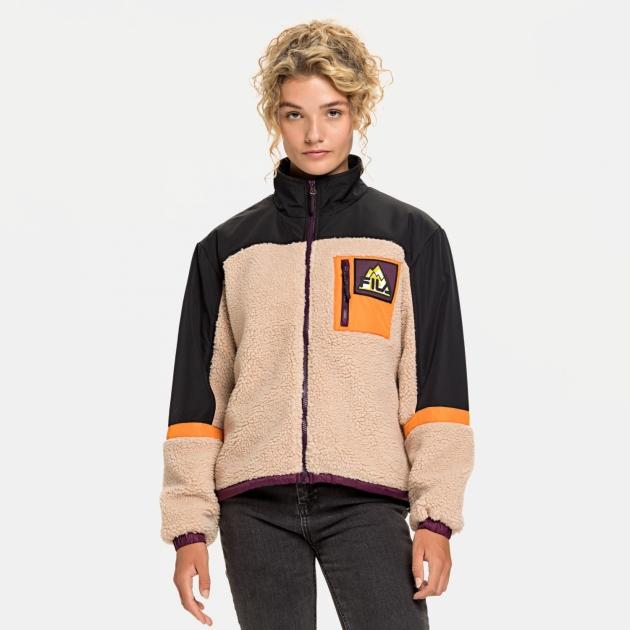 Fila Yachi Blocked Sherpa Jacket