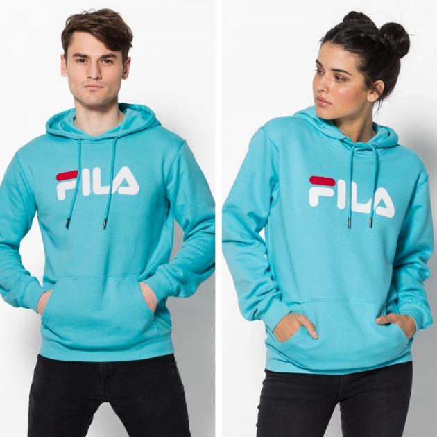 Fila Classic Pure Hoody Kangaroo blue-curacao