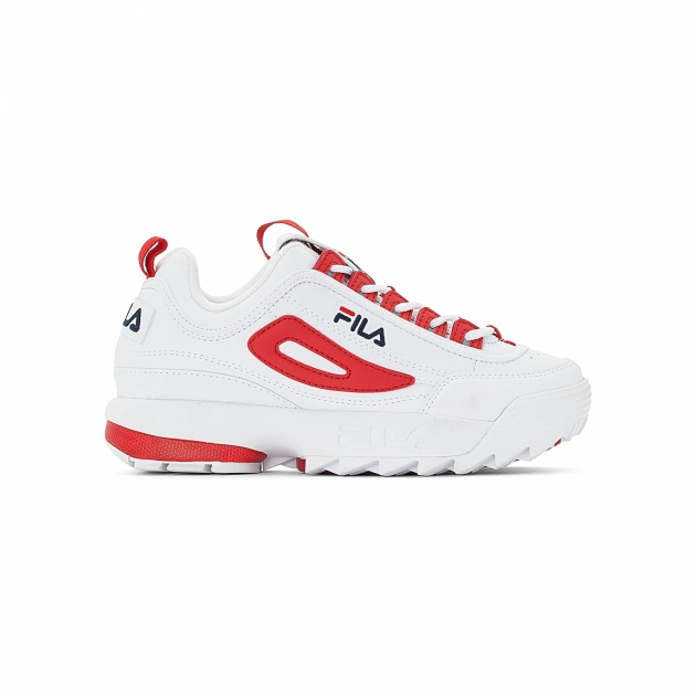 Fila Disruptor CB Low Wmn white-red