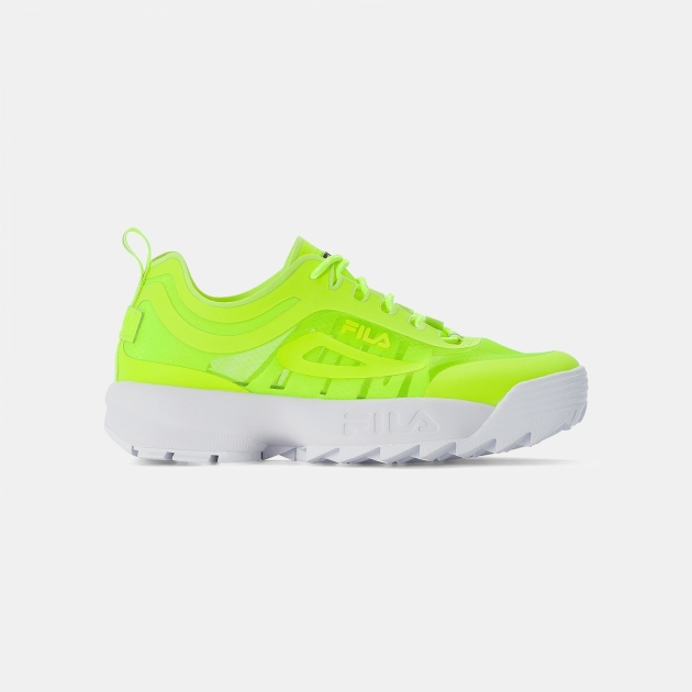 Fila Disruptor Run Men neon-lime