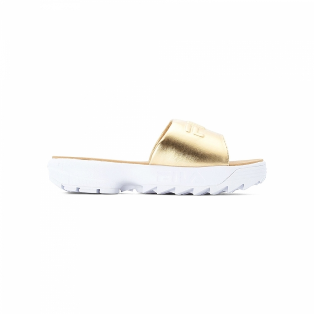 Fila Disruptor Slide Wmn gold