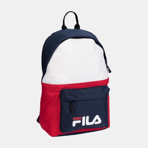 Fila New Backpack S'Cool Two black-iris-white-red