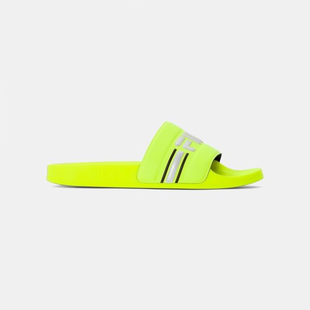 Fila Oceano Neon Slipper Men neon-lime