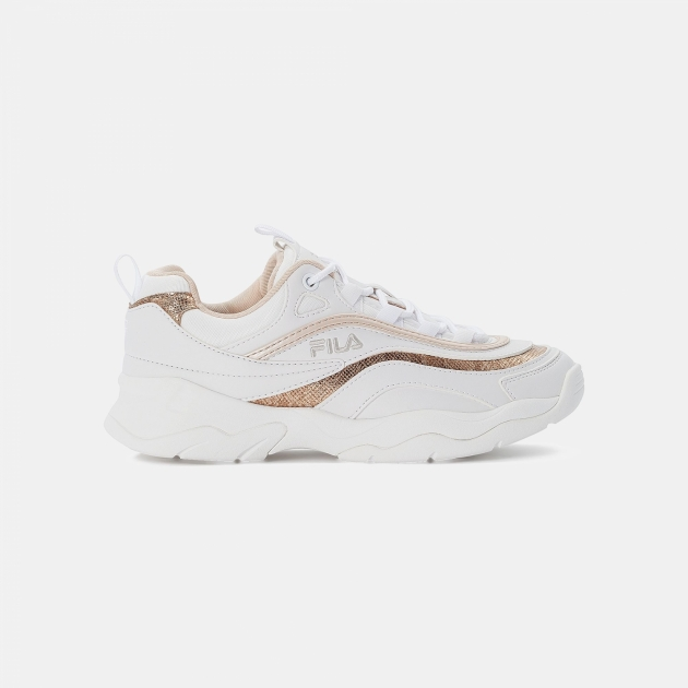Fila Ray F Wmn white-coral-pink