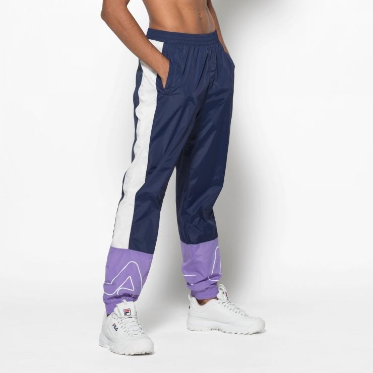 Fila Al Woven Track Pant - dark blue