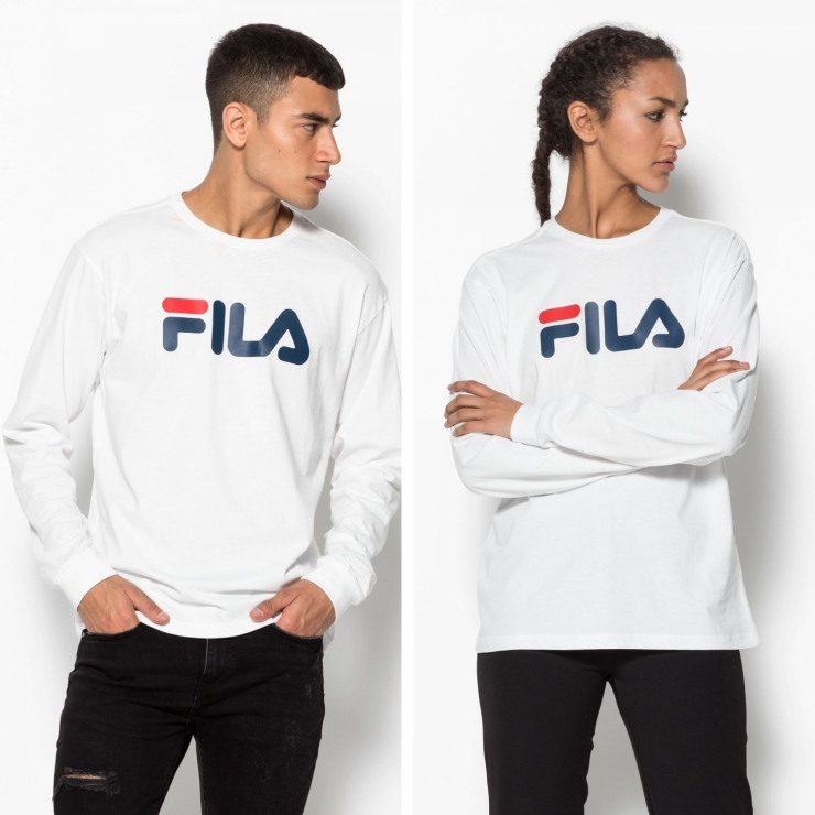 Fila Classic Pure Long Sleeve Shirt white white | FILA