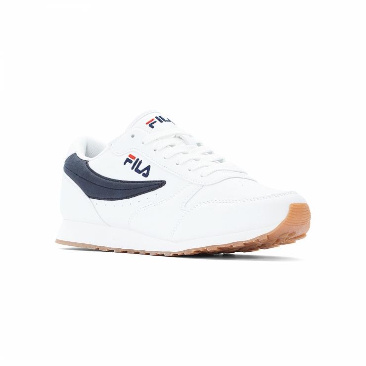 Fila Sneaker Orbit Low Men white-blue