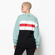 Fila Angela Crew Sweat 2.0 akquifer-white-black Bild 2