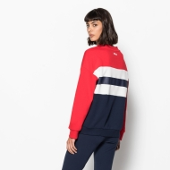 Fila Angela Crew Sweat 2.0 red-black-iris-white Bild 2