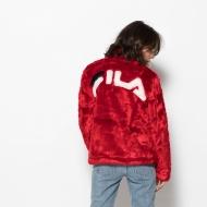 Fila Arianna High Neck Fur Jacket Bild 2
