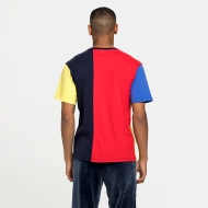 Fila Bansi Blocked Tee blue-red-yellow Bild 2