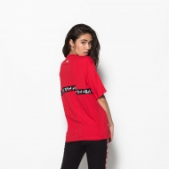 Fila Charo Tee red-black Bild 2