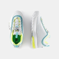 Fila Disruptor Logo Low Wmn white-neon-lime Bild 2