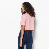 Fila Domenica Cut Hem Tee pink-shadow Bild 2